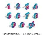 0  1  2  3  4  5  6  7  8  9... | Shutterstock .eps vector #1445484968