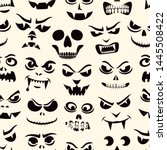 funny monsters seamless pattern....