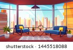 hotel suite  office lounge area ...   Shutterstock .eps vector #1445518088