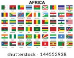 set of buttons with flags of... | Shutterstock .eps vector #144552938