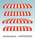 store awning shop canopy. store ... | Shutterstock .eps vector #1445593652