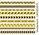 Yellow And Black Barricade...