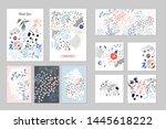 creative universal artistic... | Shutterstock .eps vector #1445618222