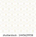 Golden Lines Pattern. Raster...