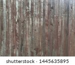 old brown wood background.... | Shutterstock . vector #1445635895