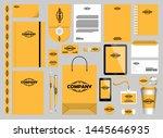 stationery mockups customizable ...   Shutterstock .eps vector #1445646935