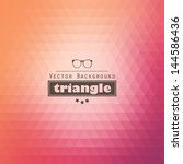 Triangle Vector Background
