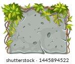 stone board decoration liana...