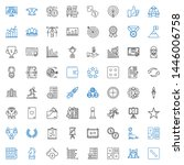 success icons set. collection...   Shutterstock .eps vector #1446006758