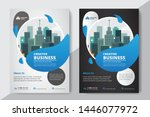 corporate business flyer poster ... | Shutterstock .eps vector #1446077972