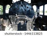 Black Steam Boiler Of A...
