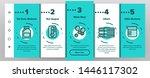 laundry line icon set vector... | Shutterstock .eps vector #1446117302