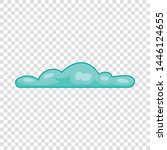 atmosphere cloud icon. cartoon... | Shutterstock .eps vector #1446124655