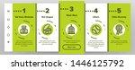 pet line icon set vector... | Shutterstock .eps vector #1446125792