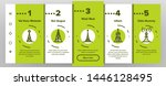 radio towers and masts vector... | Shutterstock .eps vector #1446128495