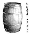 antique engraving illustration... | Shutterstock .eps vector #1446147398