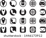 contact information icons  info ...
