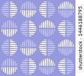 a modern abstract pattern made... | Shutterstock . vector #1446188795