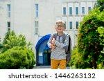 children go back to school....   Shutterstock . vector #1446263132