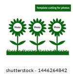 laser cutting template for two... | Shutterstock .eps vector #1446264842