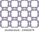ottoman style wallpaper pattern ... | Shutterstock .eps vector #14462674