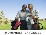 portrait of happy senior couple ... | Shutterstock . vector #144630188