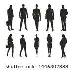 business men and women  group... | Shutterstock .eps vector #1446302888