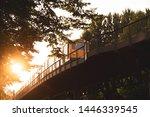 berlin subway train  s bahn  on ... | Shutterstock . vector #1446339545