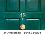 house number 49 with the forty... | Shutterstock . vector #1446354095