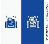 mobile  cell  technology ... | Shutterstock .eps vector #1446373928