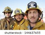 Closeup Portrait Of Three Fire...