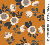 Seamless Vector Floral Pattern. ...