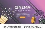 movie film banner design... | Shutterstock .eps vector #1446407822