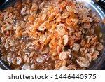 sweet shrimp  thai street food | Shutterstock . vector #1446440975