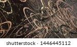 artistic sketch backdrop... | Shutterstock . vector #1446445112