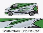 van wrap design. wrap  sticker...   Shutterstock .eps vector #1446453755