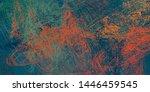artistic sketch backdrop... | Shutterstock . vector #1446459545