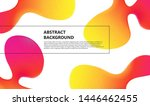 creative bright poster with... | Shutterstock .eps vector #1446462455