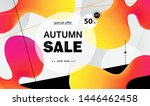 creative bright poster with... | Shutterstock .eps vector #1446462458