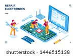 Isometric Page For Electronics...