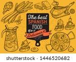 spanish cuisine illustrations   ... | Shutterstock .eps vector #1446520682