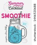 drink menu smoothie... | Shutterstock .eps vector #1446520688