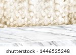 white marble glossy table... | Shutterstock . vector #1446525248