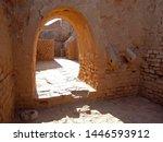 one of passages inside... | Shutterstock . vector #1446593912