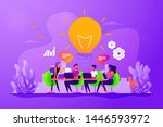 sharing thoughts  ideas ... | Shutterstock .eps vector #1446593972