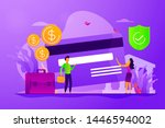 credit card security ... | Shutterstock .eps vector #1446594002