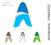 vector illustration of abstract ... | Shutterstock .eps vector #144661022