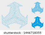 mesh intersection directions...   Shutterstock .eps vector #1446718355