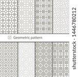 traditional arabic seamless... | Shutterstock .eps vector #1446780212