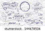 design elements label ... | Shutterstock .eps vector #144678536